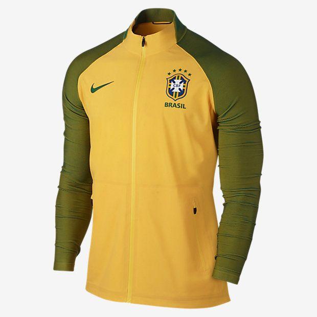 Brazil CBF Elite Revolution Woven 3 Men's Track Jacket
