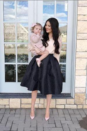 Mini & Me: Rachel e Isla, vestidos e acessórios!