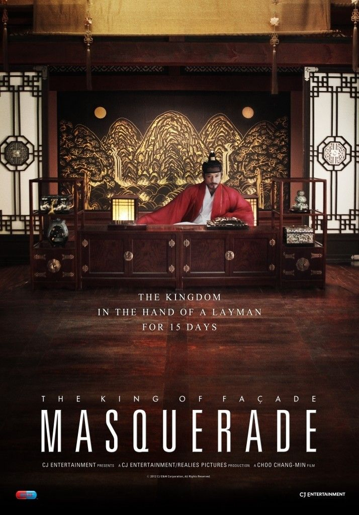 Masquerade - Rotten TomatoesIn order to avoid the constant threat of assassination, the tragic historic figure of King Gwang-hae orders his councilor HEO kyun to find him a double. Ha-sun, a jester who looks remarkably like the king, is finally chosen. But the day that King Gwang-hae feared comes all too fast: the King is now in a coma induced by an unknown poison. Quickly realizing what he believes takes to be a good king, Ha-sun must now rule Chosun as if it were truly his own.