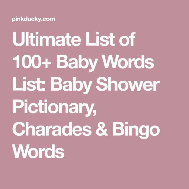 Best 25+ Pictionary Word List Ideas On Pinterest