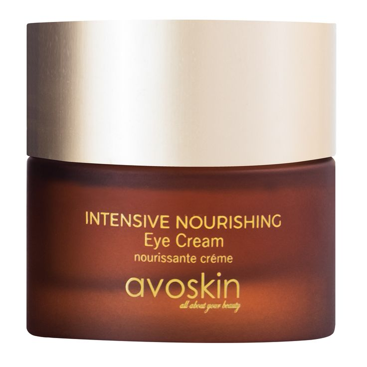 Avoskin Intensive Nourishing Eye Cream  This powerful, unique, and silky-smooth eye cream provides a visibly firmer appearance while helping to reduce puffiness and dark circles. Eyes immediately look more awake, elasticity is improved and the eye contour appears lifted.
