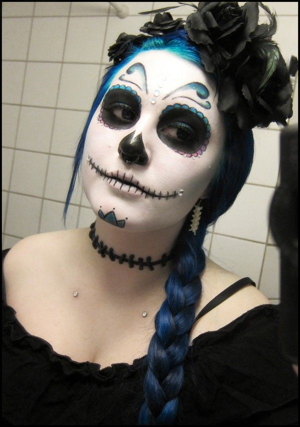 108 best Day Of The Dead Makeup Designs images on Pinterest ...