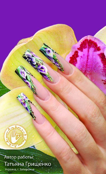 The 345 best Beautiful Nails images on Pinterest | Nail scissors ...