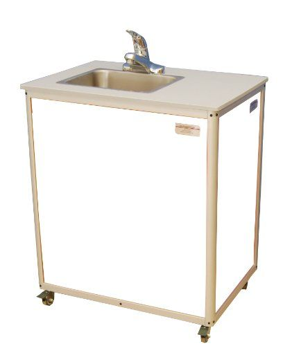 Special Offers - Monsam PSE-2007 White Preschool and Childcare Single Basin Portable Sink 32 Length x 18 Width x 30-1/4 Height For Sale - In stock & Free Shipping. You can save more money! Check It (November 15 2016 at 06:41AM) >> http://bathvanitiesusa.net/monsam-pse-2007-white-preschool-and-childcare-single-basin-portable-sink-32-length-x-18-width-x-30-14-height-for-sale/