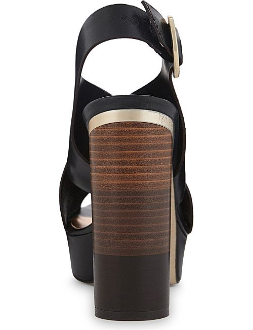 TED BAKER Kammila leather heeled sandals