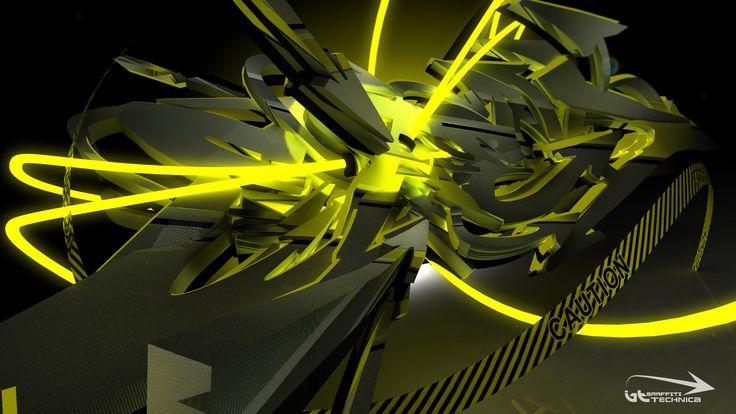 3d Graffiti Art Wallpaper 1080p