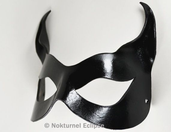 Hey, I found this really awesome Etsy listing at https://www.etsy.com/listing/65477432/black-catwoman-leather-mask-with-little