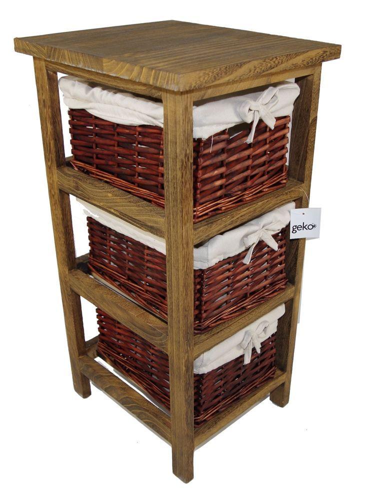20 best storage images on Pinterest | Wicker baskets, Bathroom ...
