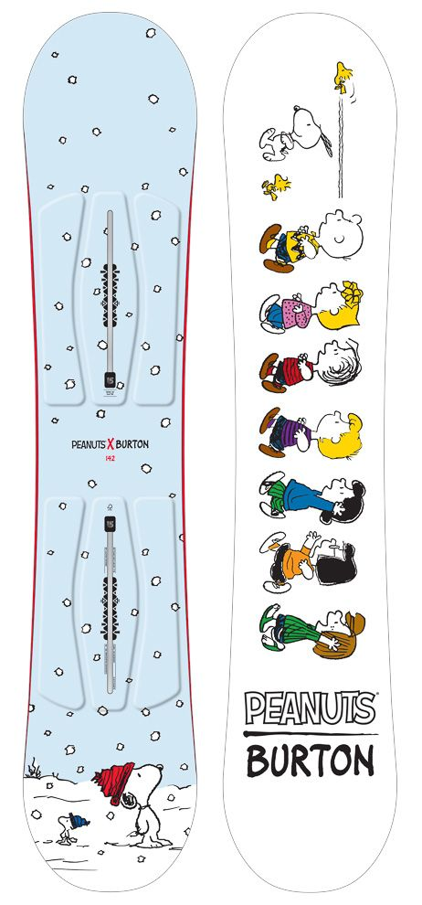 画像: 4/12【バートン×ピーナッツのスノーボードコレクションが限定発売】