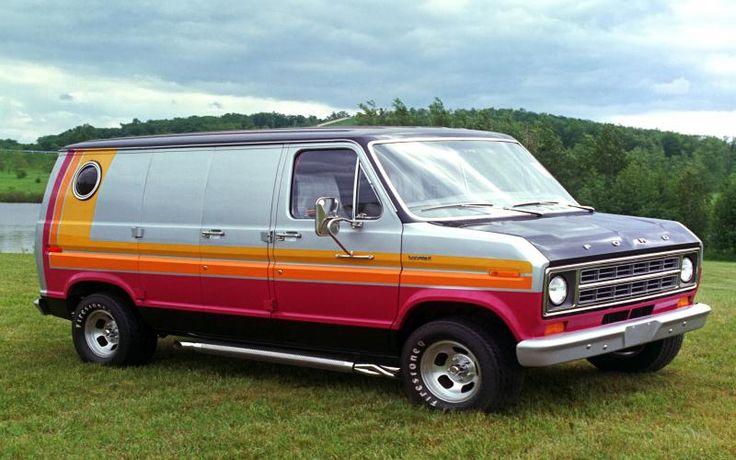 1976 Ford Econoline Van - Factory Customized