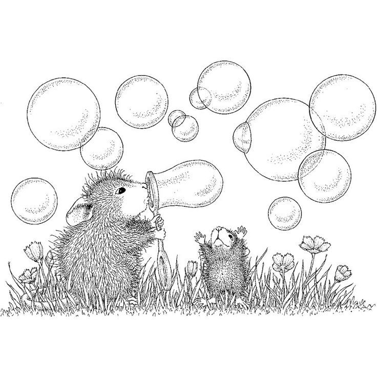 house mouse designs coloring pages - photo#18