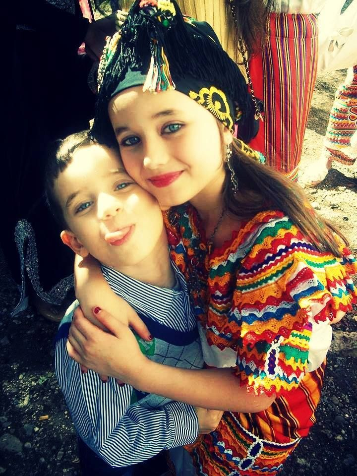 Kabyle Algerie World Cultures Asian Kids Traditional