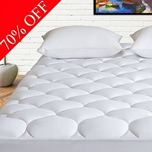 Harny Mattress Pad Cover Queen Size Cooling Mattress Topper 400tc