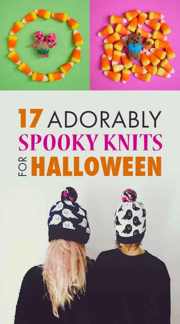 17 Adorably SpooOOOooky Knits For Halloween