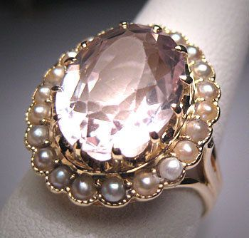 1000 Images About Rings Amethyst Kunzite Gemstones On