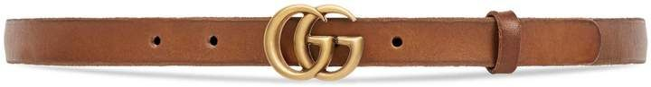 Leather belt with Double G buckle  #Gucci  #ShopStyle #MyShopStyle click link to see more information
