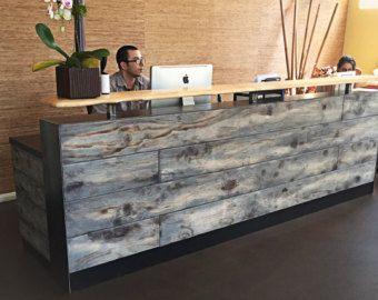 Santa Cruz POS Counter Point of Sale Counter door ReceptionCounters