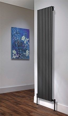 DQ Double Quick Cube Single Vertical Radiator