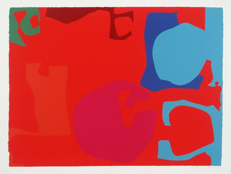 Patrick Heron 'Untitled', 1971 © Estate of Patrick Heron. All Rights Reserved, DACS 2015