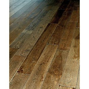 Dark Oak Solid Wood Flooring