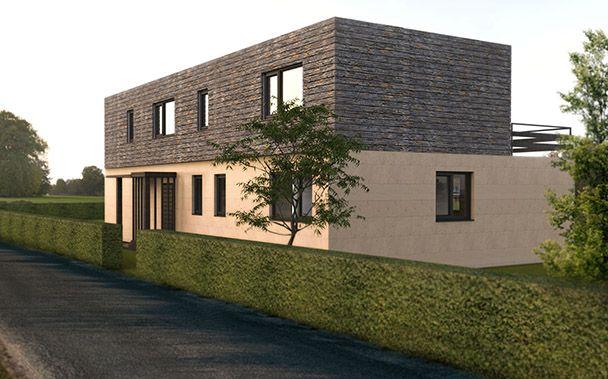 17 mejores ideas sobre modelos casas prefabricadas en - Casas modulares cube ...