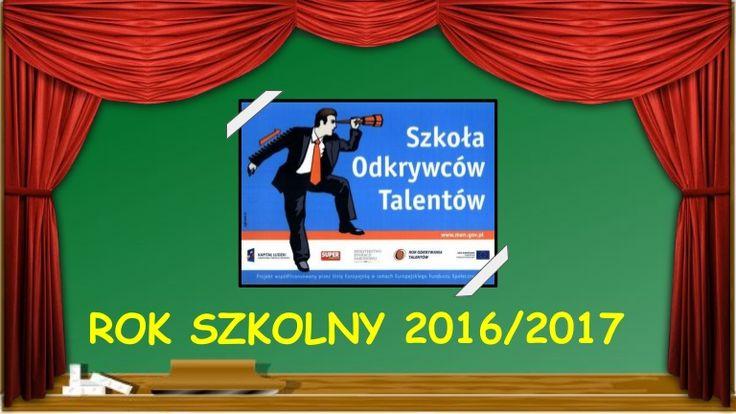 Prezentacja utalentowanych uczniów z naszej szkoły, którzy rozwijają swoje zdolności na różnych zajęciach i konkursach w ramch Szkoły Odkrywców Talentów