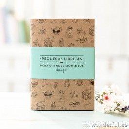 Pequeñas libretas para grandes momentos (Pack de 3 ud) - Regalos para el amigo invisible - Navidad