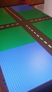 Forever A Wife and Mother: DIY Lego Table Love the roads