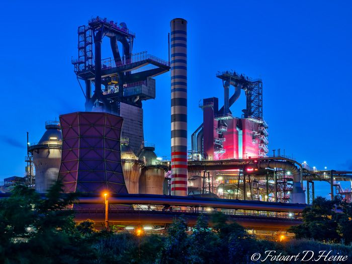 Coking plant #Thyssen, #Duisburg, Germany. #HDR Photography