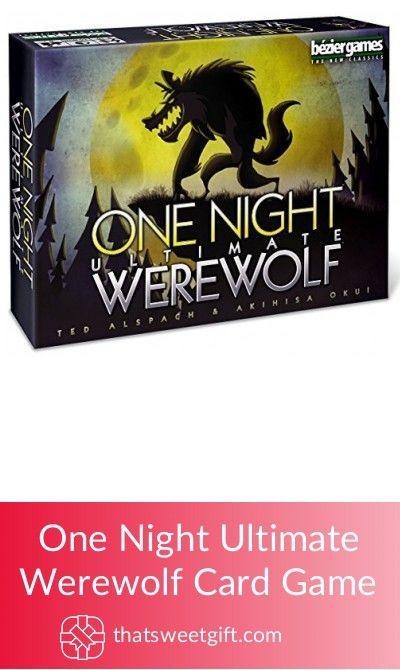 One Night Ultimate Werewolf Card Game #thatsweetgift