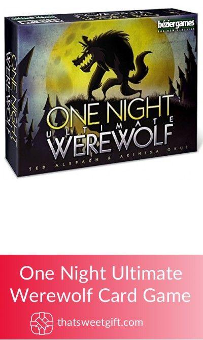 One Night Ultimate Werewolf Card Game #thatsweetgift