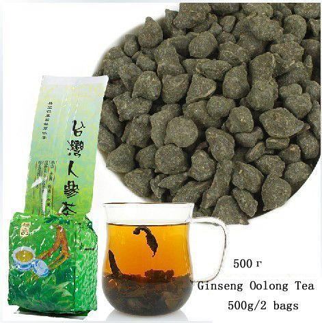 "500g(2 bags) of Taiwan ""Dong Ding"" Ginseng Oolong Tea  #oolong #tea #travel #cryotea #puerhtea #tearoom #chinesetea #greentea"