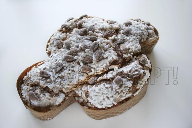 Tradicionalni italijanski slatki hleb  kolomba