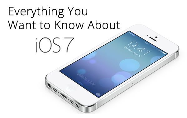 Guide to The New Apple iOS 7 Features #apple #technology