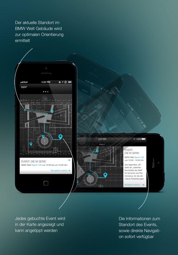 BMW World Application on App Design Served