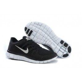 nike free 5.0+ herresko svart sølv nike sko tilbud billige nike sko på