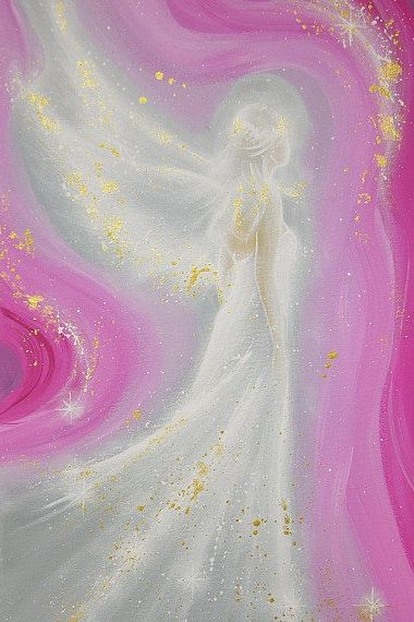 """Limited angel art photo """"always at your side"""" , modern angel painting, artwork, perfect for frame"""