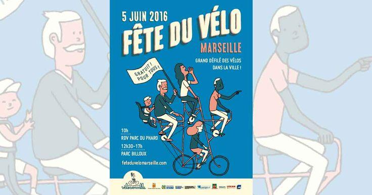 Marseille sera envahi par les vélos ce dimanche 5 juin. Participez à l'événement ! Le grand défilé s'achève en fête au parc François Billoux...