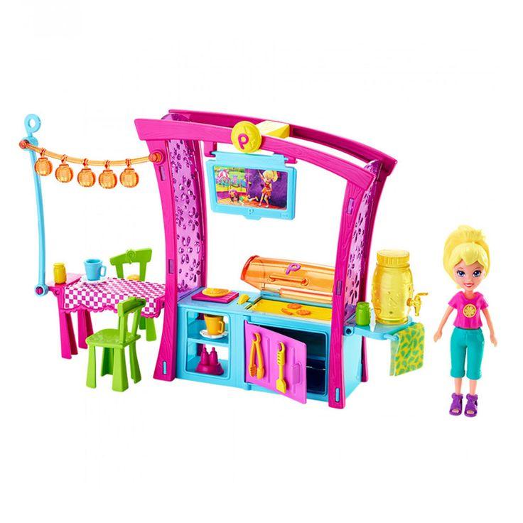 Conheça a espetacular Boneca Polly Pocket - Churrasco Divertido da Polly da Mattel, um conjunto incrível que vai encantar as meninas. Aqui as crianças vão poder se divertir soltando a imaginação e usando toda a criatividade para criar um verdadeiro churrasco com a Polly e sua turma.     O conjunto inclui uma cozinha com grelha de churrasqueira, mesa, cadeiras e uma linda boneca Polly. Polly Pocket é uma brinquedo impecável que via proporcionar muitos momentos de alegria e diversão.