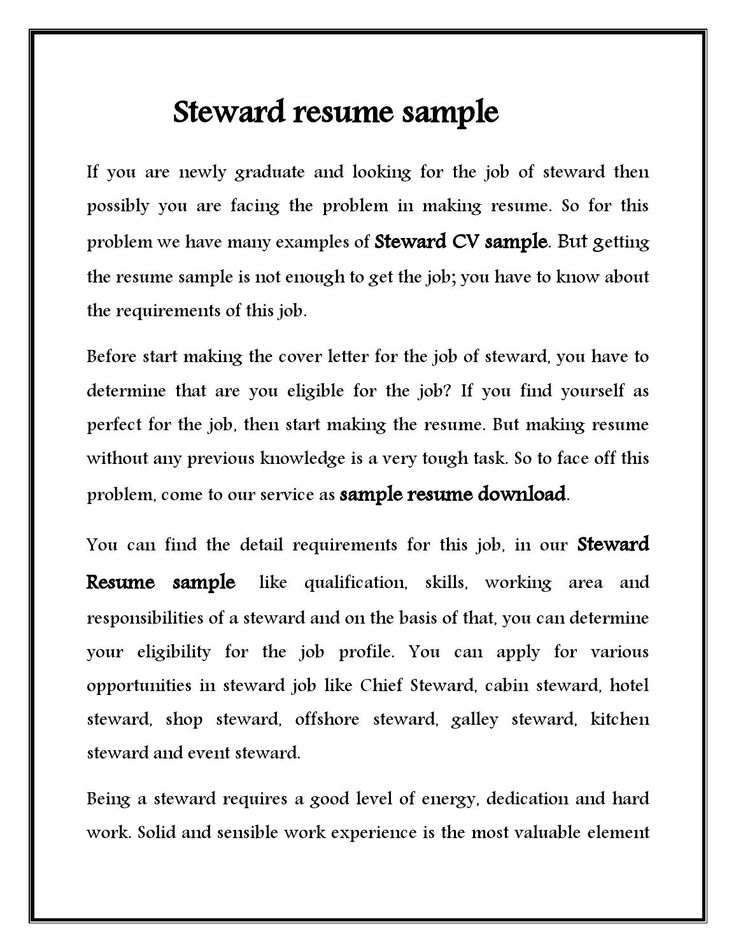 Example Of Resume To Apply Job | Resume Examples And Free Resume