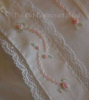 The Old Fashioned Baby Sewing Room: White Wednesday                                                                                                                                                     More