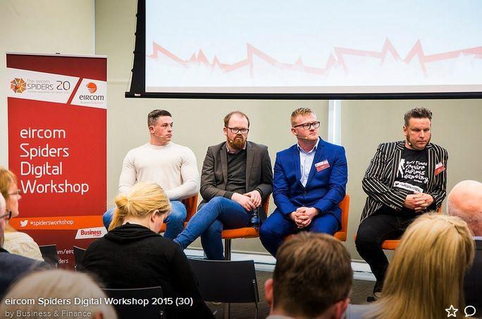 Eircom Spiders Digital Workshop - Panel Discussion https://www.madinks.ie