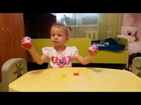 Разворачиваем яйца киндер сюрприз принцесса Deploy видео для детей - YouTube