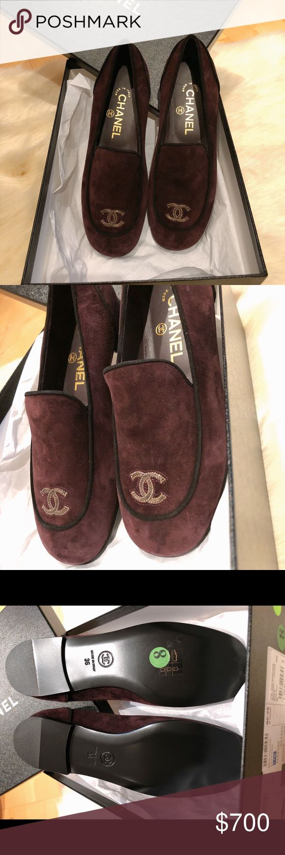 💯 AUTHENTIC CHANEL LOAFERS $500 thru PP | Chase | BOA | Facebook 100% Authentic  Purchased from Saks Fifth Avenue  Comes with Box and Dustbag Size 36 All shoes in the last picture are for sale as well. Please feel free to check out my other listings.  All sales are final. No return or exchange.  Once offer is accepted the item is YOURS! Thank you Happy Shopping! CHANEL Shoes Flats & Loafers