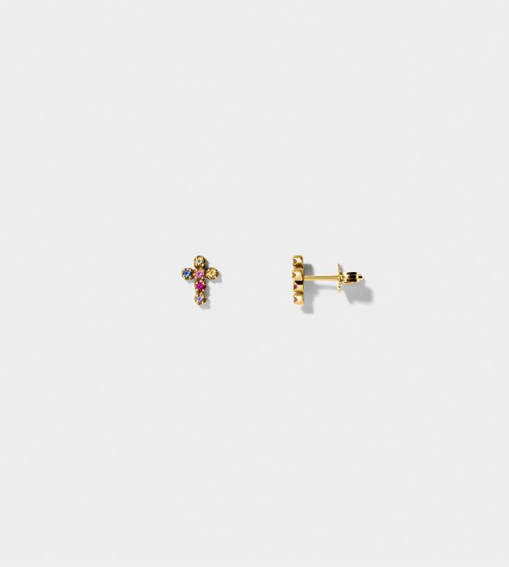 LINE&JO - Miss Gold Edict Earring