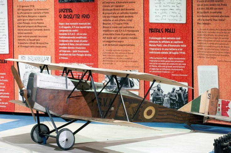 Nasceva oggi, 24 maggio, nel 1895 a Lovere (BG), l'aviatore italiano Mario Stoppani, asso dell'aviazione italiana durante la Prima guerra mondiale, trasvolatore e pilota collaudatore del primo esemplare di Ansaldo S.V.A.5, il 19 marzo 1917.  Dapprima aereo da caccia, poi da ricognizione, effettuò la prima missione operativa il 9 ottobre 1917 dal tenente N. Palli, che dieci mesi più tardi portò su Vienna Gabriele D'Annunzio. All'impresa, partecipò anche il n.11777 esposto in Museo. Foto: A…