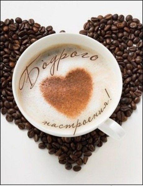 Открытки чашка кофе.с утра, добрым утром