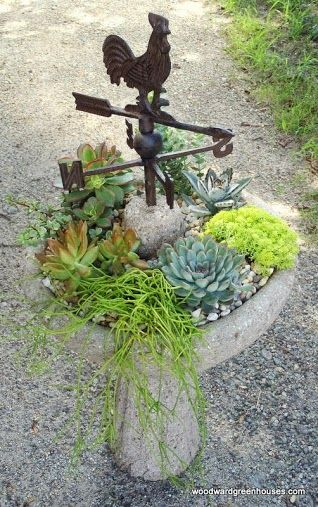 LOVE LOVE LOVE THIS!!!  I have the bird bath AND the weather vane! I'm on for summer.