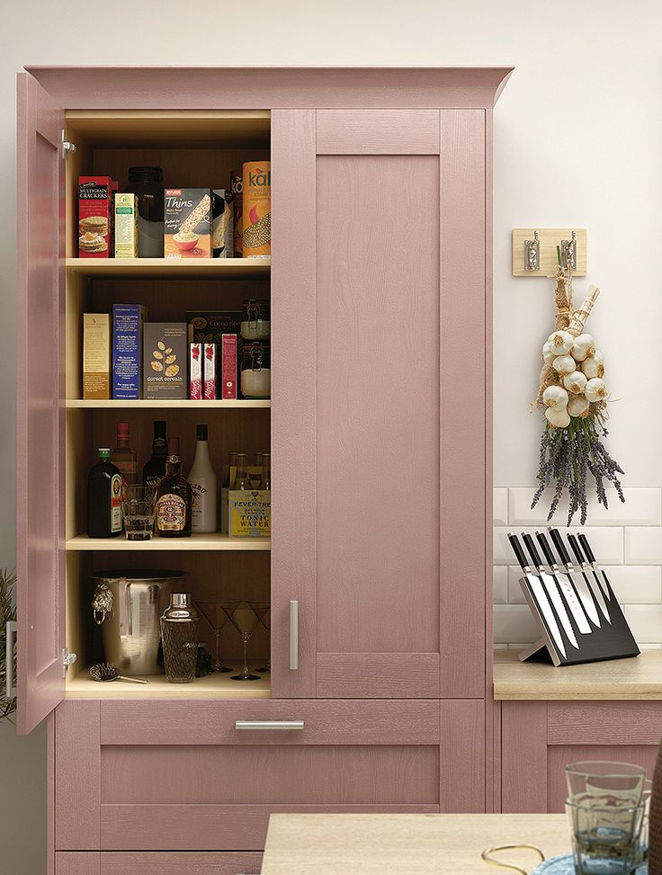 A pink kitchen? Ever thought about thinking outside the box and getting a kitchen that isn't white? Book your appointment with Homebase to explore our range of kit+kaboodle MADE FOR YOU kitchens.