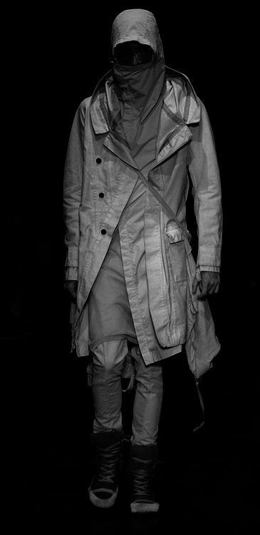 Boris Bidjan Saberi.   macabre   dark fashion   goth   obscure   high fashion   runway   catwalk